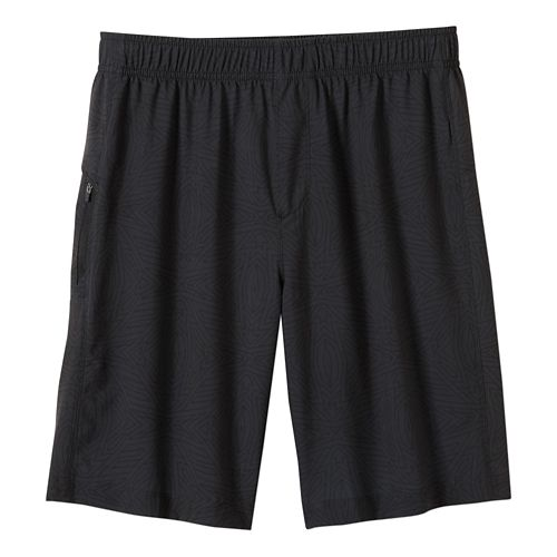 Mens prAna Vargas Unlined Shorts - Charcoal Jupiter S