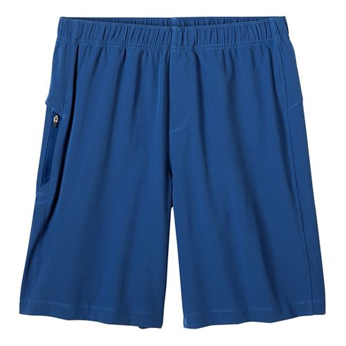 Mens prAna Vargas Unlined Shorts - Blue Ridge S