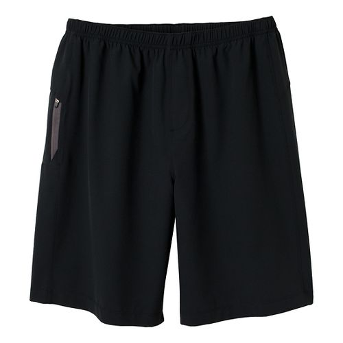 Mens prAna Vargas Unlined Shorts - Black XL