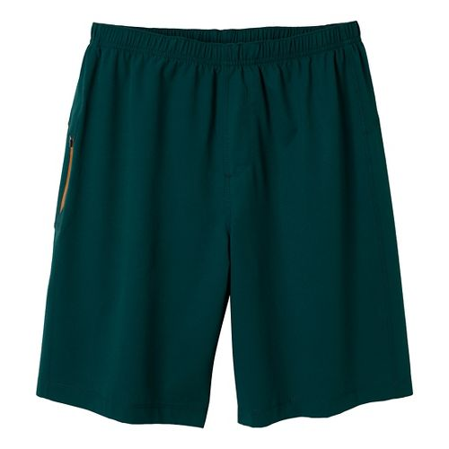 Mens Prana Vargas Unlined Shorts - Deep Teal S