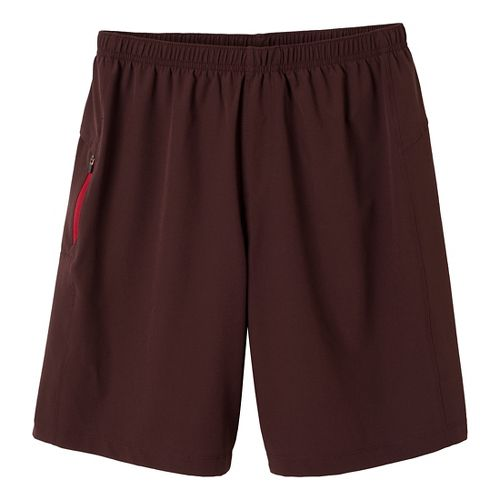 Mens Prana Vargas Unlined Shorts - Rich Cocoa L