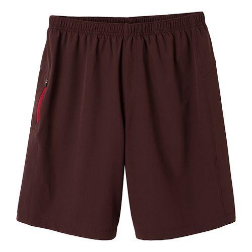 Mens Prana Vargas Unlined Shorts - Rich Cocoa XXL