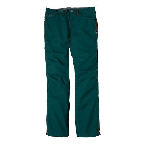 Mens Prana Continuum Full Length Pants - Deep Teal 36