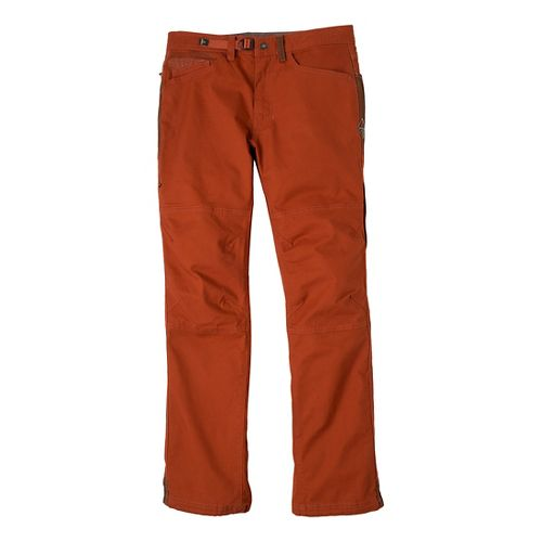 Mens Prana Continuum Full Length Pants - Henna 32