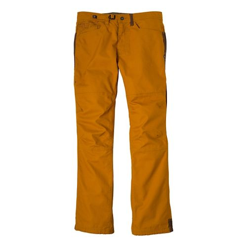 Mens Prana Continuum Full Length Pants - Sahara 36