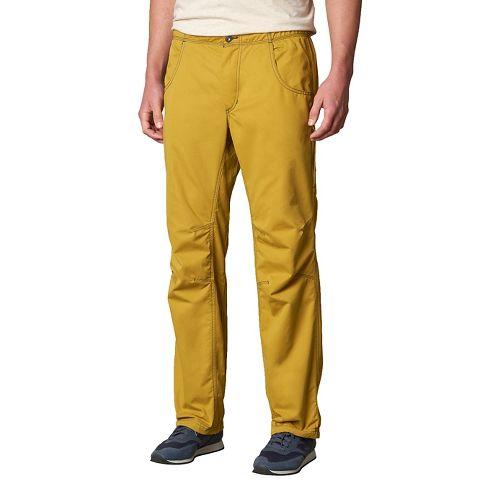 Mens prAna Ecliptic Pants - Yellow L