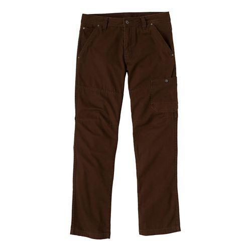 Mens Prana Rawkus Full Length Pants - Brown 34