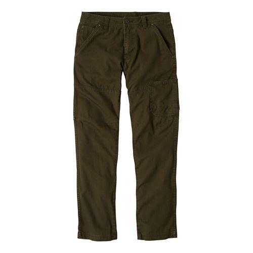 Mens Prana Rawkus Full Length Pants - Cargo Green 33