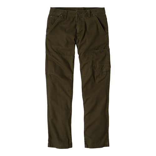 Mens Prana Rawkus Full Length Pants - Cargo Green 34