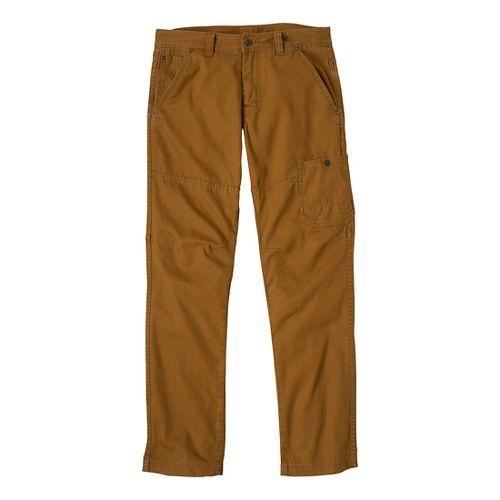 Mens Prana Rawkus Full Length Pants - Dark Ginger 38