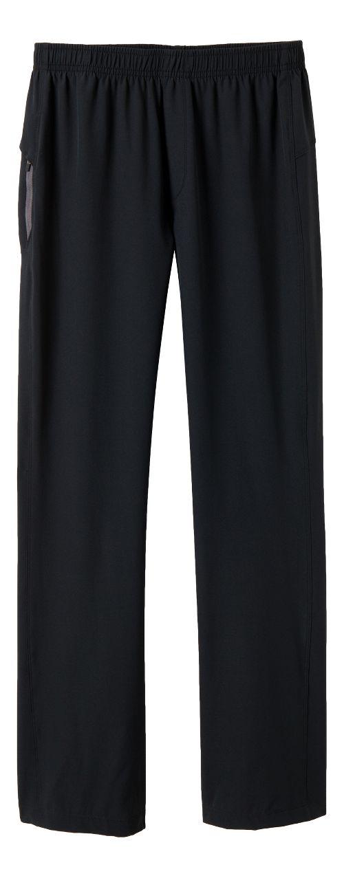 Mens Prana Vargas Full Length Pants - Black XL