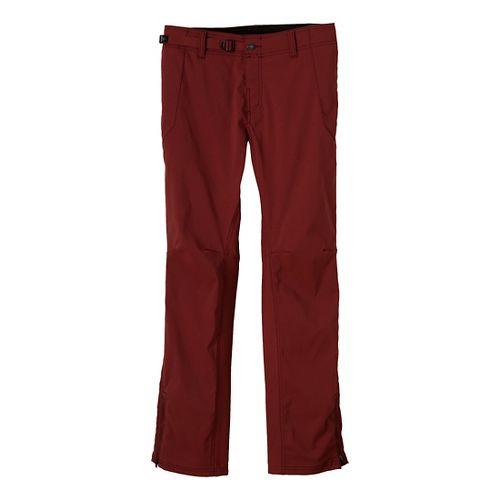 Mens Prana Wyatt Full Length Pants - Brick 36