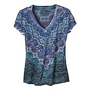 Womens Prana Braiden Short Sleeve Non-Technical Tops
