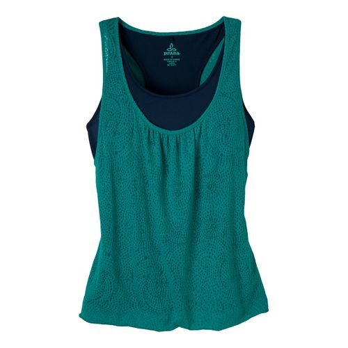Womens Prana Mika Top Sleeveless Technical Tops - Dragonfly S