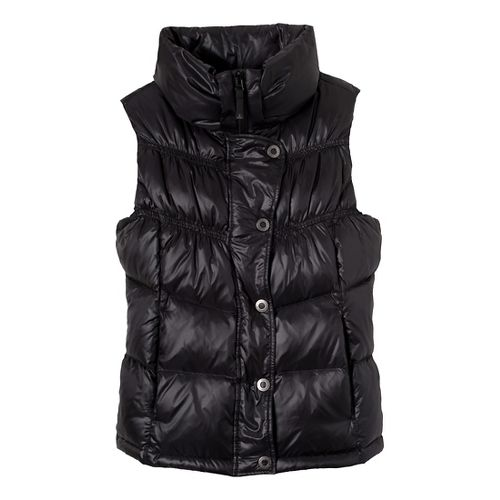 Womens Prana Milly Down Vests - Black XS