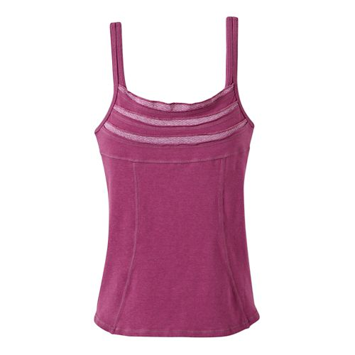 Womens Prana Vera Tanks Technical Tops - Vivid Viola S