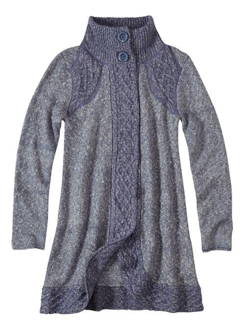 Womens prAna Angelica Duster Cold Weather Jackets - Grey XL