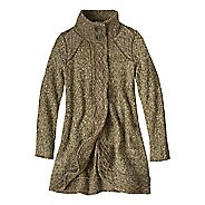 Womens prAna Angelica Duster Cold Weather Jackets - Cargo Green XL