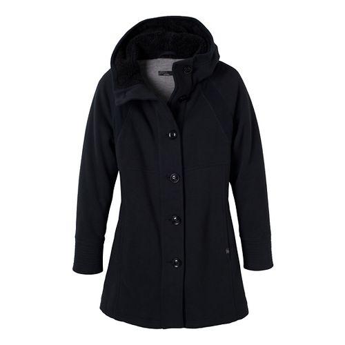 Womens Prana Bette Outerwear Jackets - Black S