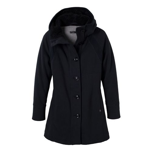 Womens Prana Bette Outerwear Jackets - Black XS