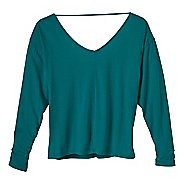 Womens Prana Bianca Long Sleeve Non-Technical Tops