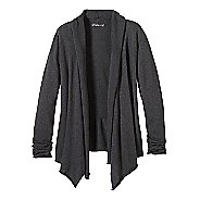 Womens prAna Georgia Wrap Long Sleeve Non-Technical Tops