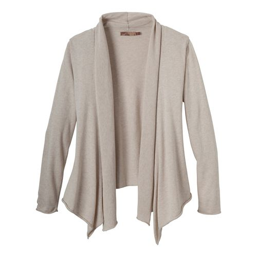 Womens Prana Georgia Wrap Long Sleeve Non-Technical Tops - Winter M