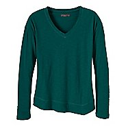 Womens Prana Heidi Long Sleeve Non-Technical Tops