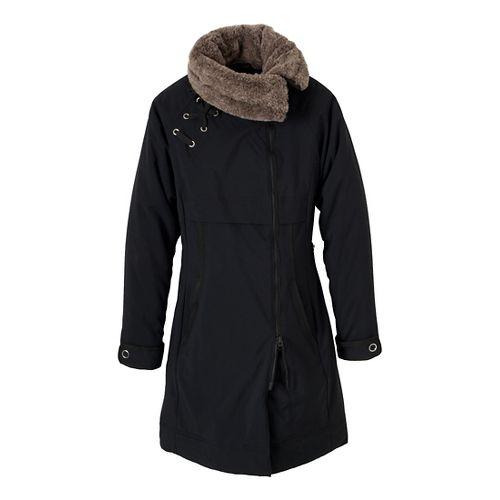 Womens Prana Kagool Outerwear Jackets - Black XS