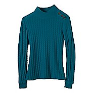 Womens Prana Lauren Turtleneck Long Sleeve Non-Technical Tops