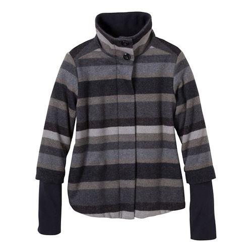 Womens Prana Lily Outerwear Jackets - Coal XL