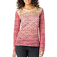 Womens Prana Lottie Long Sleeve Non-Technical Tops
