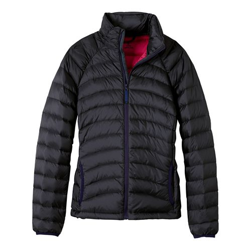 Womens prAna Lyra Down Cold Weather Jackets - Coal XS