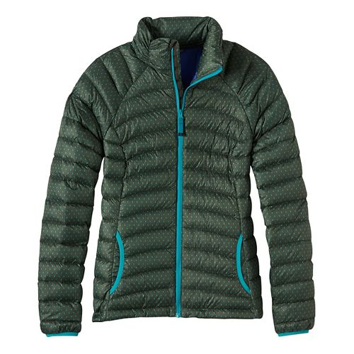 Womens prAna Lyra Down Cold Weather Jackets - Green S