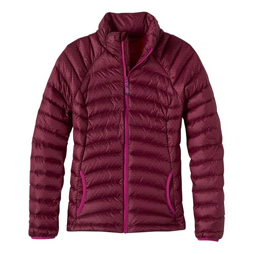 Womens prAna Lyra Down Cold Weather Jackets - Brown L