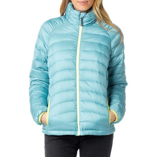 Womens Prana Lyra Down Outerwear Jackets - Deep Sea S