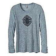 Womens Prana Mallory Long Sleeve Non-Technical Tops