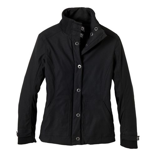Womens Prana Marissa Outerwear Jackets - Black L