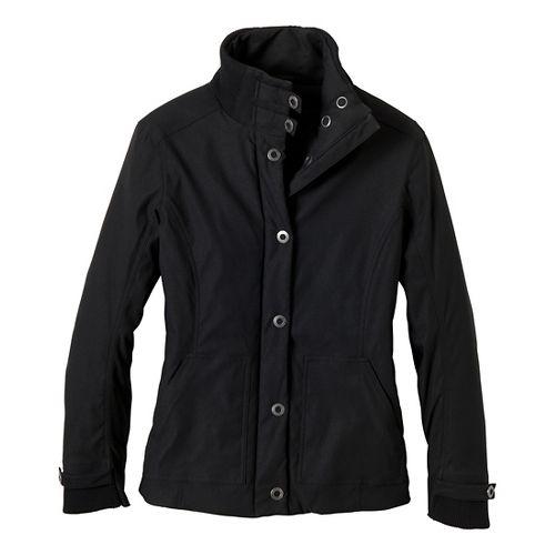 Womens Prana Marissa Outerwear Jackets - Black XS