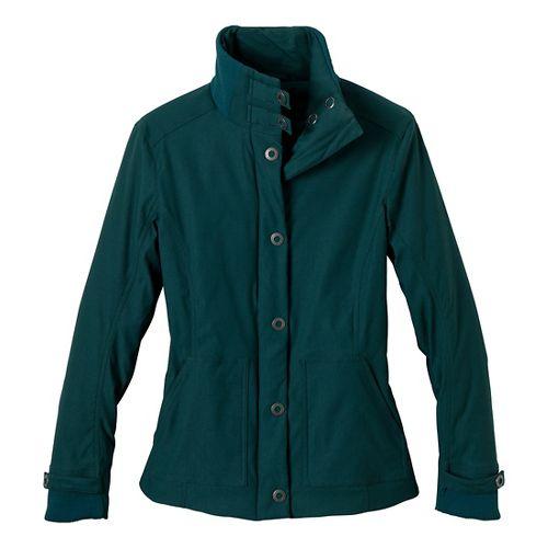 Womens Prana Marissa Outerwear Jackets - Deep Teal L