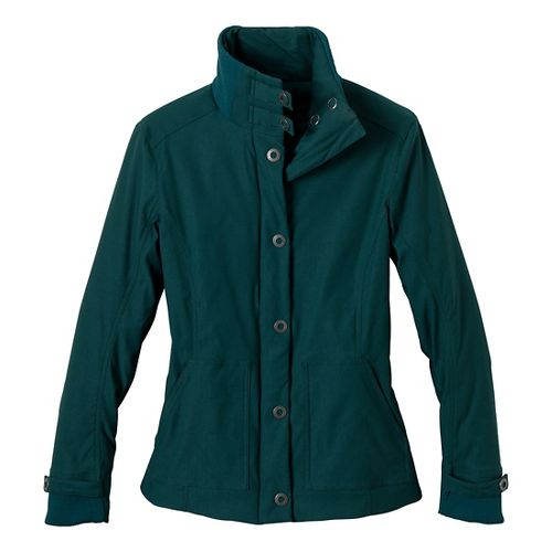 Womens Prana Marissa Outerwear Jackets - Deep Teal XL