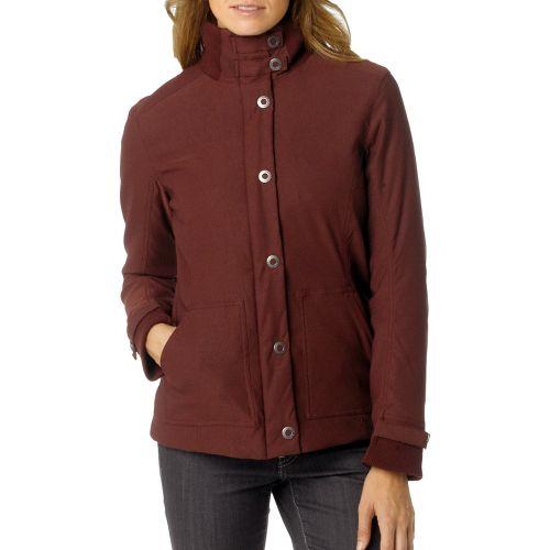 Womens Prana Marissa Outerwear Jackets - Mahogany XL