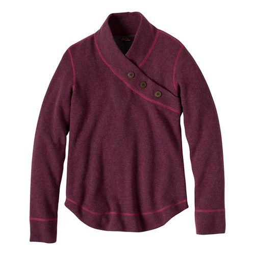 Womens Prana Mena Sweater Long Sleeve Non-Technical Tops - Grapevine M