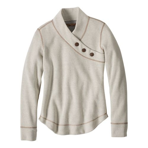 Womens Prana Mena Sweater Long Sleeve Non-Technical Tops - Winter XS