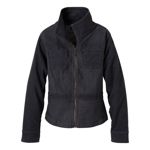 Womens Prana Nadine Outerwear Jackets - Denim L
