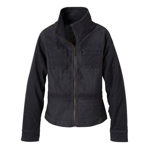 Womens Prana Nadine Outerwear Jackets - Denim XL