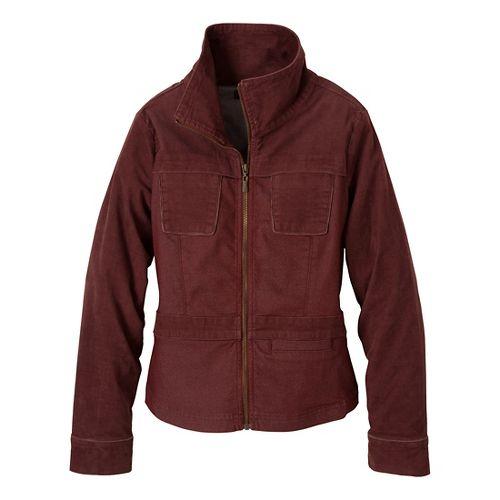 Womens Prana Nadine Outerwear Jackets - Raisin L