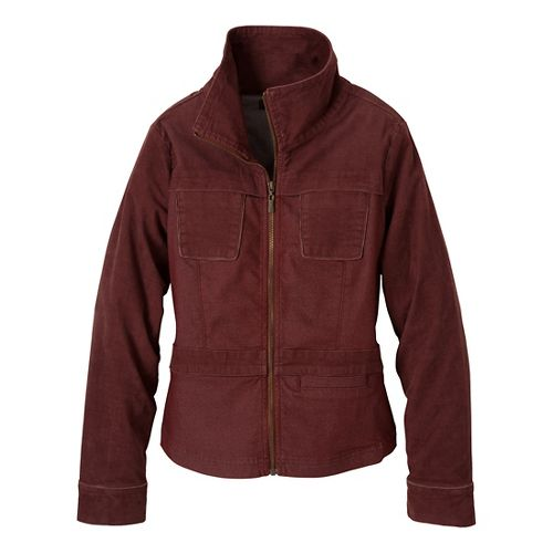 Womens Prana Nadine Outerwear Jackets - Raisin M
