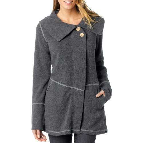Womens Prana Sephra Outerwear Jackets - Coal XL