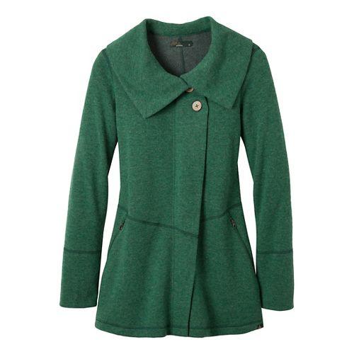 Womens Prana Sephra Outerwear Jackets - Deep Jade L